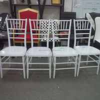 2014 newest White ghost tiffany chair / wedding chair