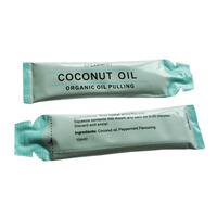 New Product 10ml Spearmint Organic Oil Pulling Coconut Oil For Whitening And Cleaning Teeth