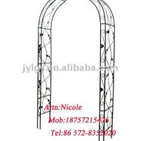 Powder Coated Wrought Steel Rose Garden