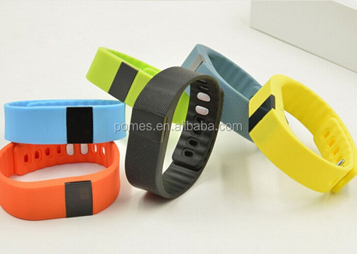 Android phones drinking alarm fitness tracker sleep monitoring SMS vibration reminder smart bracelet