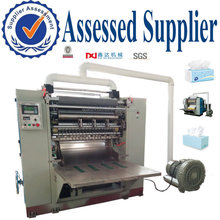 Full automatic high speed folding face tissue paper making machine factory