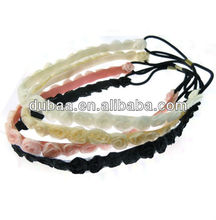 Fashion Style Chiffon Fabric Hair Band for Girls Lady Female Teenagers with Hairband,Flower Headband
