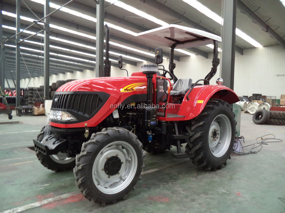 wheel tractor DQ804 with front end loader, agricultural tractor,farm machinery