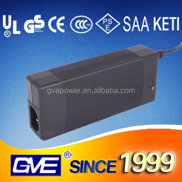 Guangdong GVE brand car adapter charger 42V 2A battery charger with free sample