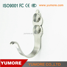 wholesale clothing market stainless steel magnetic wall hooks hanger