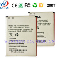 High copy Mobile Phone Batteries 3.85V 2000mAh For Blu 200T