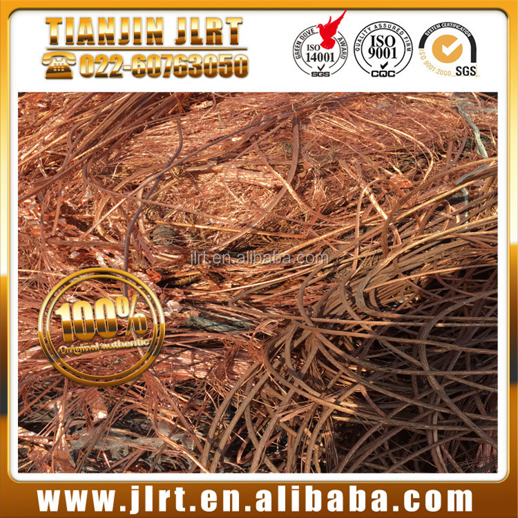 Best pure metal bare bright cable wire millberry bulk copper scrap for sale