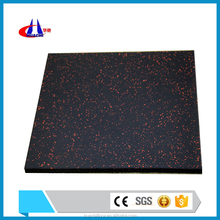 Non-toxic gym rubber floor anti-slip mat supplier