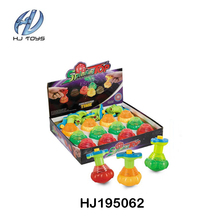 High quality plastic light up spinning top toy