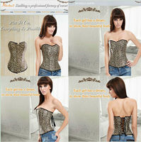 Fashion Girls Sexy Padded Decorative Bustier