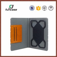 High quality custom universal leather case belt clip case for ipad mini