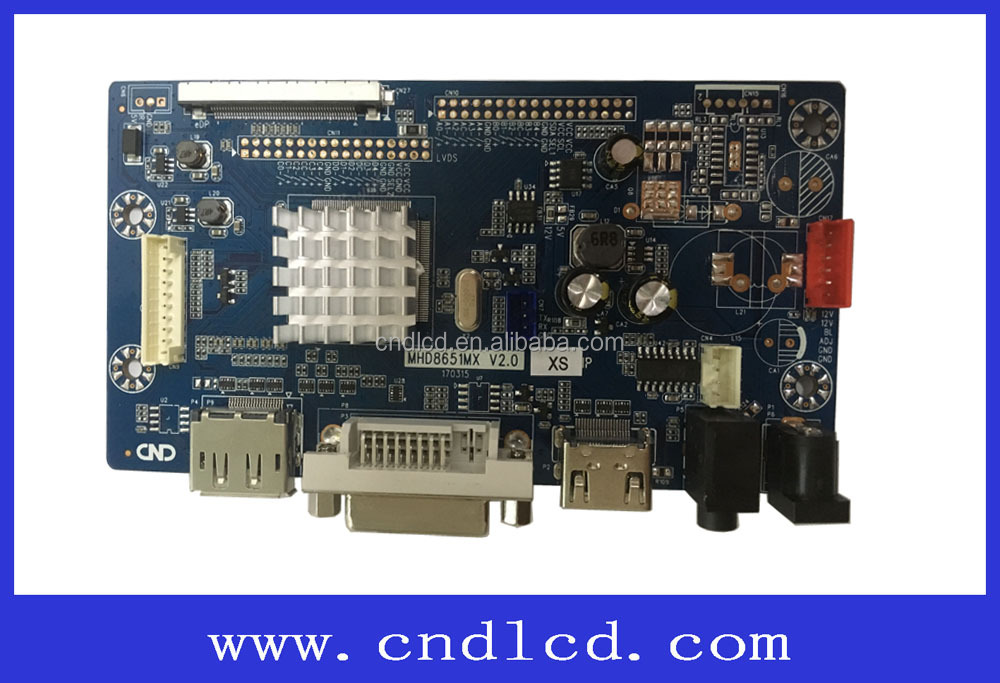 2K QHD 2560 * 1440 resolution HDMI DP to eDP LCD Converter controller board