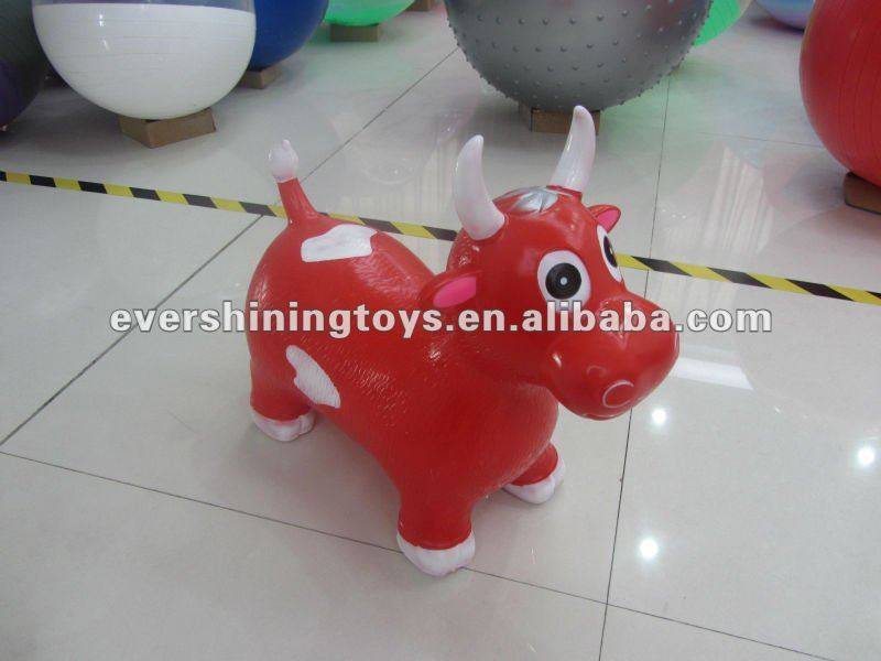 Inflatable PVC jumping animal/jumping bull/jumping cow