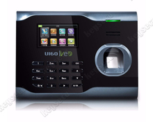Free Software U160 Fingerprint Time Attendance ZK Biometric