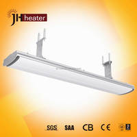 2.4kw Quartz Patio Outdoor Ceiling Heater Electrical Heater Wall Mounted infrared heating Panel Radiant Infrared Heater