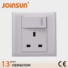 UK socket with switch power under cabinet power strip with usb port
