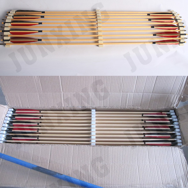 wholesale wooden Arrows price for Traditional Bows and Wooden Bows