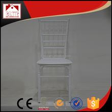 wholesale resin crystal plastic chiavari chair for wedding