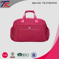 Fashion 30L Sports Tote Bag Travel with Wheels with Trolley Belt