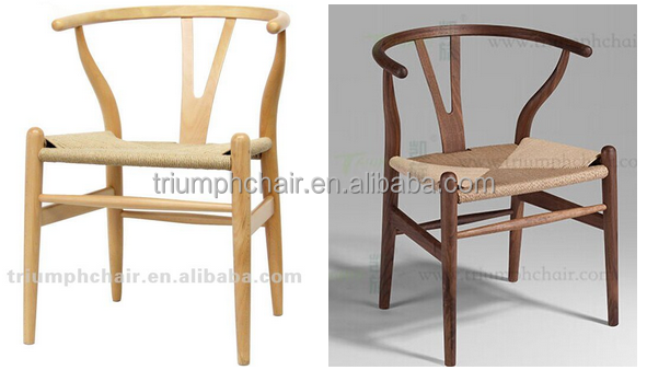 Triumph Living room chairs / dining stool / wooden chairs with rope rattan seat