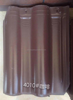 Terracotta Material Coffee Brown Roof Tile from factory