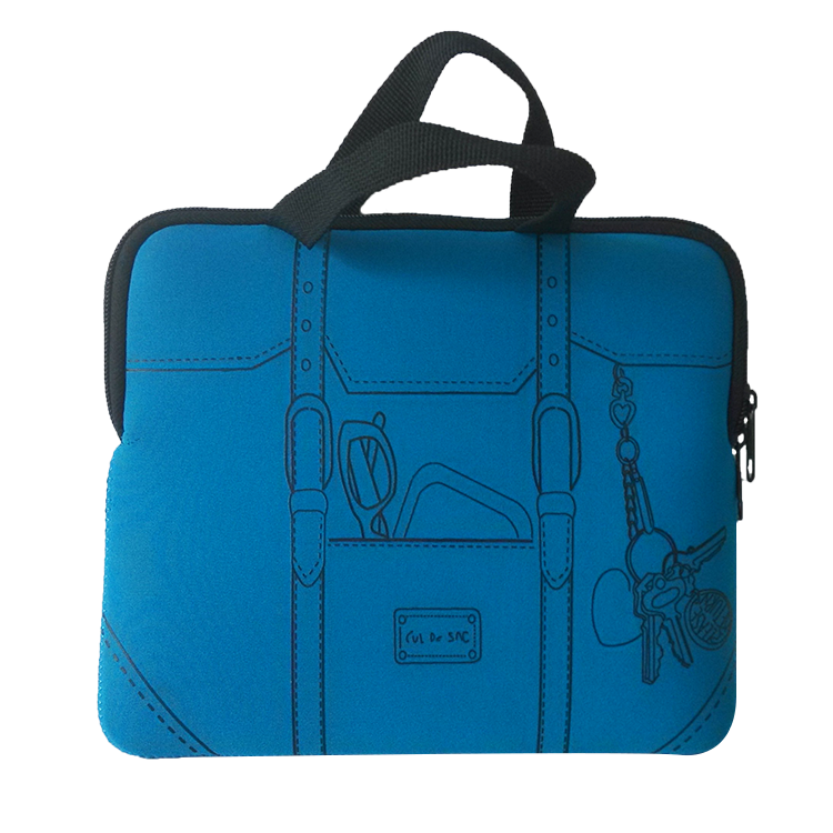 Neoprene school laptop bag messenger