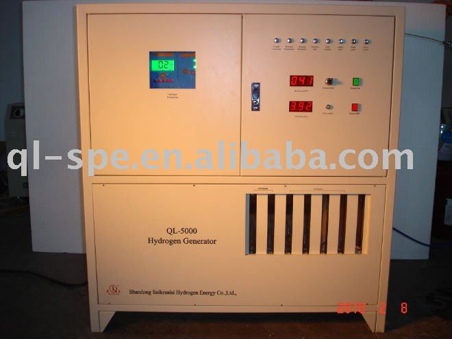 wind/solar powered PEM water electrolyzer--5LPM flow rate, 2012 new product