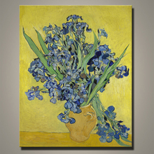 Handmade Modern butterfly flowers canvas oil painting by Van gogh