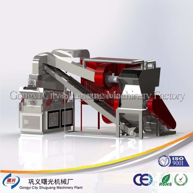 CE APPROVED COMMERCIAL scrap copper wire granulator machine/electrical cable wire recycling equipment for sale