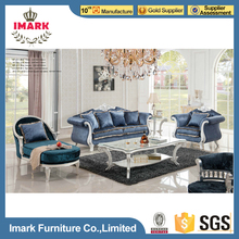 Luxury Arab Style Velvet Sofa Set Pictures Wood Sofa Furniture for Sale