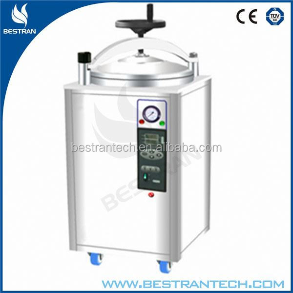BT-50A CE ISO Approved 50L stainless steel medical autocalve sterilizer for sale