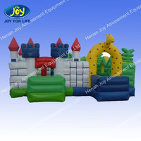 animal bounce castle for kids party equipment