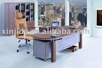 Modern office table and chairs (manager table)