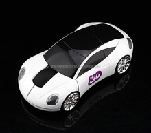 Custom logo new model 2.4ghz car wireless mouse for hottest selling gifts