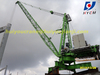Luffing crane without masts, derrick crane, roof top crane WD80