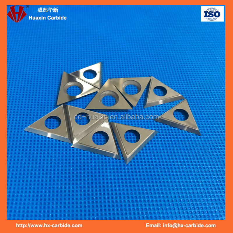 free sample knife C3/K10 Triangle carbide inserts for woodworking