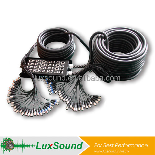 XLR snake cable, stage box cable, audio snake cable