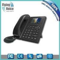 "2016 latest 802.11n wifi ip voip phone with 2.8"" TFT colorful LCD FIP11W"