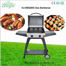2015 New design good quanlity Made in China bbq grill outdoor kitchen HJ-BBQ004 stand & gas bbq grill style for 3-5 people