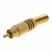 Gold RCA Plug / rca Connector / rca JACK