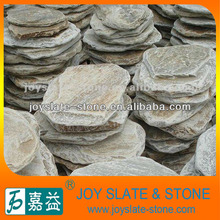 Cheap natural round garden stepping stone