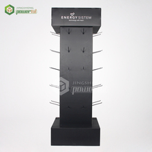 Floor Standing Cardboard Hook Display For Cap