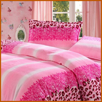 Polyester Flannel Printed Bedding Set