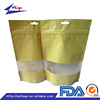 Food Grade Rice Paper Bag Manufacturer With Window/