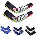 Wholesale full color ice silk elbow basketball compression arm sleeve