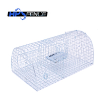 Collapsible humane catching rat trap cage for pest