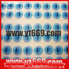 promotional 3d sticker / clear epoxy sticker