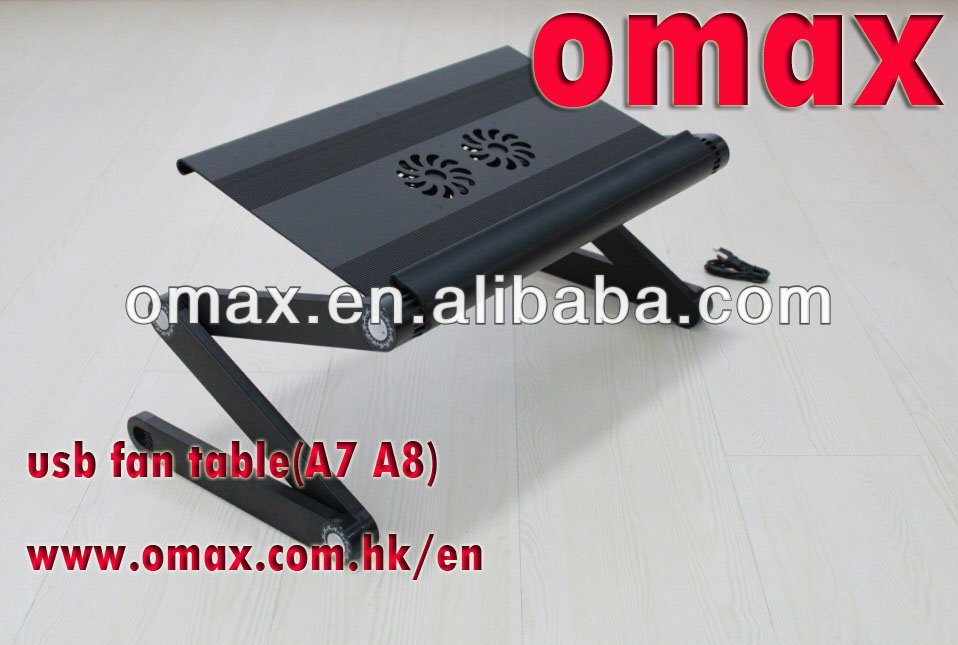 Hight quality laptop tray table for bed with mouse pad