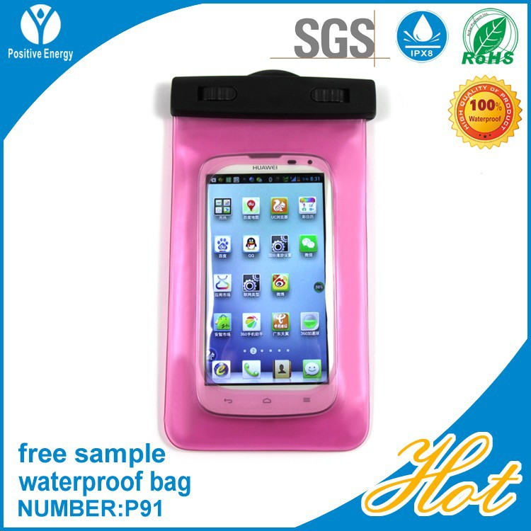 New design waterproof bag for iphone and waterproof bag for mobile phone and ipad waterproof bag
