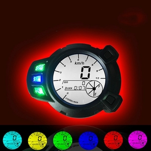 Motorcycle Instruments 10000 RMP LCD Speedometer Tachometer for Yamaha Zuma BMK x125 YW125 speedomerter for Yamaha BWS 7 color